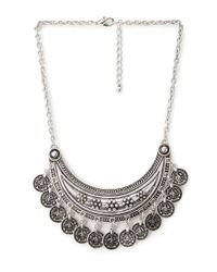 Forever 21 | Metallic Boho Coin Necklace | Lyst