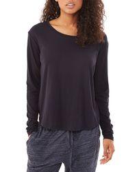 Alternative Apparel | Black Perfect Organic Pima Crew T-shirt | Lyst