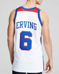 "Mitchell & Ness | White 1980 All Star East Julius ""Dr. J"" Erving Jersey for Men 