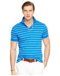 Polo Ralph Lauren | Multicolor Striped Pima Soft-touch Polo Shirt for Men | Lyst