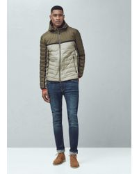 Mango | Natural Ultra-light Quilted Coat for Men | Lyst