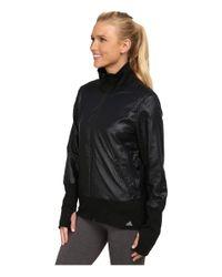 Adidas | Black 3d Woven Jacket | Lyst