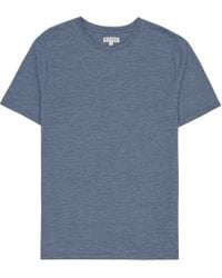 Reiss - Blue Bless Marl Crew Neck T-shirt for Men - Lyst