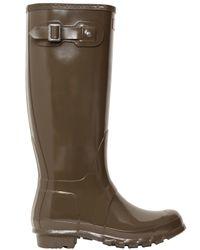 HUNTER - Natural Original Tall Gloss Wellington Boots - Lyst