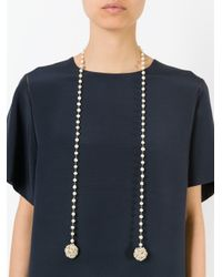 Rosantica | Metallic 'pom Pon' Necklace | Lyst