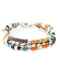 Gas Bijoux - Multicolor 'cielo Triple' Bracelet - Lyst