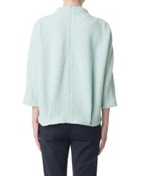 Tibi | Green Boucle Cozy Top | Lyst