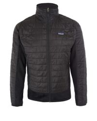 Patagonia - Black Nano Puff Hybrid Fleece Jacket for Men - Lyst