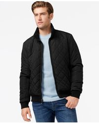 Calvin Klein | Black Men's Quilted Jacket for Men | Lyst