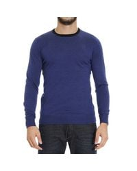 Patrizia Pepe | Blue Sweater for Men | Lyst