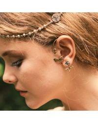 Pamela Love | Metallic Rose Ear Jacket | Lyst