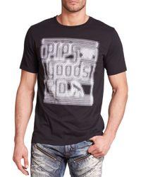 PRPS - Black Piscis Cotton Logo Tee for Men - Lyst