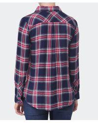 Rails - Blue Hunter Plaid Shirt - Lyst