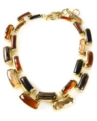 Vaubel | Multicolor Curved Link Necklace | Lyst