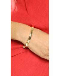 Miansai - Metallic Loren Cuff - Gold - Lyst