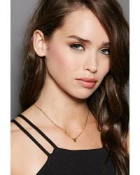Forever 21 - Metallic Mala By Patty Rodriguez Initial S Necklace - Lyst