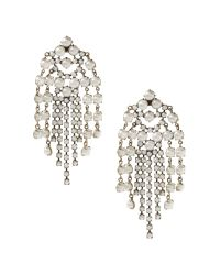 Banana Republic | Metallic Pearl Explosion Earring | Lyst