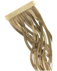 Rosantica - Metallic Schiava Gold-Tone Necklace - Lyst