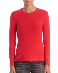 Polo Ralph Lauren | Pink Wool & Cashmere Sweater | Lyst