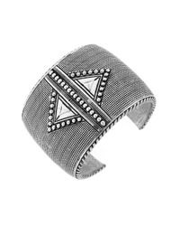 BCBGeneration | Metallic Mega Cuffs Multi-Textured Bracelet | Lyst