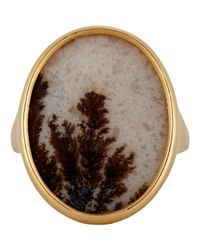 Monique Péan | Brown Oval-face Ring | Lyst
