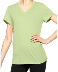 Hue | Green Solid Tee | Lyst