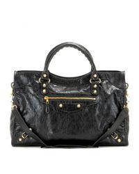 Balenciaga - Black Giant 12 City Leather Tote - Lyst