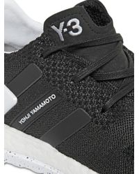 Y-3 - Black Pure Boost Zg Primeknit Sneakers for Men - Lyst