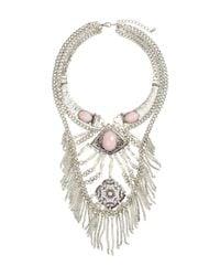 H&M - Metallic Short Necklace - Lyst