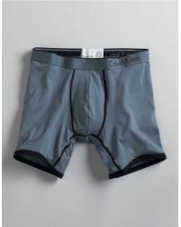 Calvin Klein | Blue Microfiber Boxer Briefs for Men | Lyst