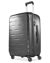 "Samsonite | Gray Spin Trunk 25"" Hardside Spinner Suitcase for Men 