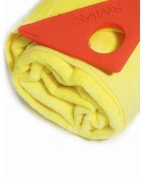 Swims - Yellow Loop Towel - Lyst