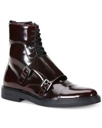 Calvin Klein   Purple Davis Box Boots for Men   Lyst
