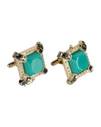 DSquared² | Green Cuff Links | Lyst