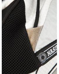 Nasir Mazhar | Black Lacing Detail Cap | Lyst