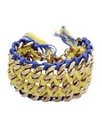 Liu Jo | Yellow Bracelet | Lyst