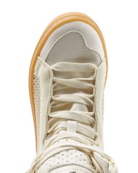 Adidas By Stella McCartney - White Asimina High-Top Sneakers - Beige - Lyst