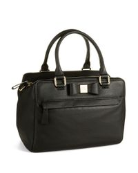 kate spade new york | Black Ashton Leather Satchel Bag | Lyst
