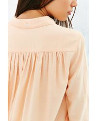 BDG | Pink Charlie Button-down Shirt | Lyst