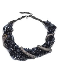 Alexis Bittar - Black Multi Strand Serpent Wrap Bib Necklace You Might Also Like - Lyst