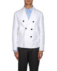 DSquared² - White Blazer for Men - Lyst