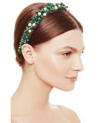 Masterpeace | Green Malachite And Pearl Headband | Lyst