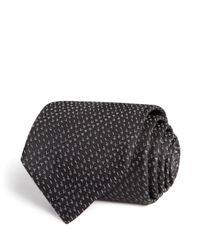 Lanvin | Black Logo Classic Tie - Bloomingdale's Exclusive for Men | Lyst