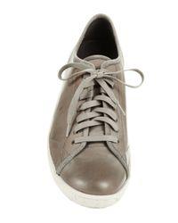 John Varvatos | Gray Hatton Low Top Sneakers for Men | Lyst