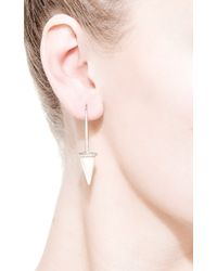 Monique Péan - Natural Fossilized Woolly Mammoth Pendulum Earrings - Lyst