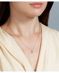 Astley Clarke - Pink Concentric Star Pendant Necklace - Lyst