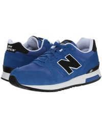 New Balance | Blue 565 - Suede/ripstop for Men | Lyst