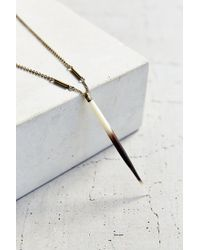 Urban Outfitters | Metallic Found + Treasured Porcupine Quill Necklace | Lyst