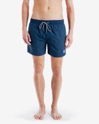 Ted Baker | Blue Chino Swim Shorts for Men | Lyst