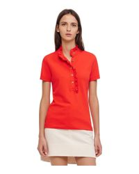 Tory Burch - Red Lidia Polo - Lyst